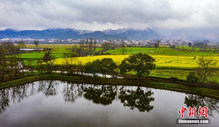 资料图:江西新余雨乡村。 赵春亮 摄