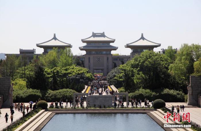 资料图:南京雨花台烈士陵园。 中新社发 姚俊 摄 图片来源:CNSPHOTO