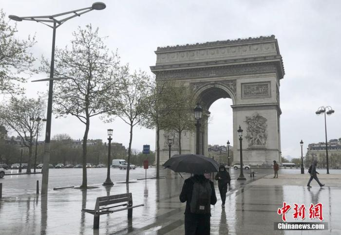资料图:巴黎香榭丽舍大街。中新社记者 李洋 摄