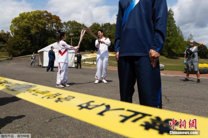 日本出现首例圣火传递相关新冠感染者:一警员确诊
