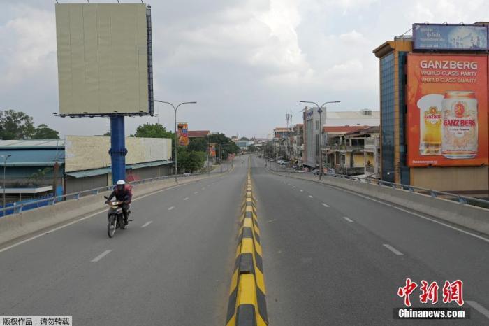 """柬埔寨首都金边""""解封"""" 仍实行疫情""""分区""""管制"""