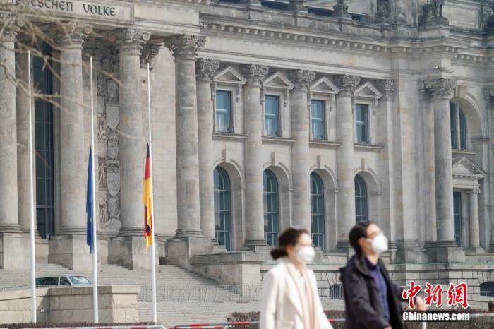 德国新冠逝者近八万官方举行悼念