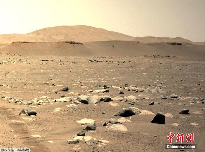 """速度提升!""""机智""""号火星直升机完成第三次飞行"""