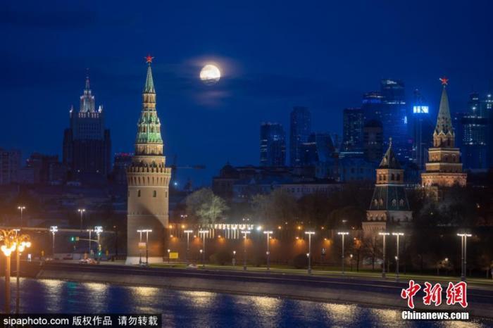 资料图:俄罗斯首都莫斯科。图片来源:SIPAPHOTO