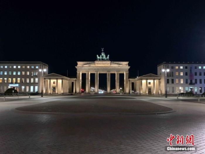 资料图:德国柏林地标建筑勃兰登堡门<a target='_blank' href='http://www.chinanews.com/'>中新社</a>记者 彭大伟 摄