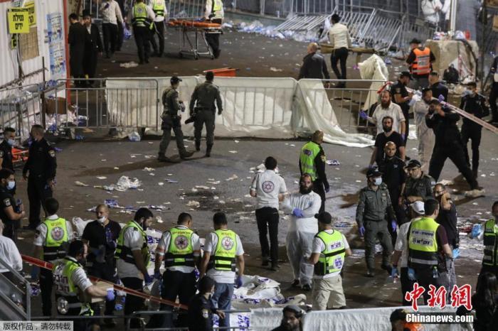 """点点seo_""""最严重的灾难之一""""以总理慰问踩踏事故罹难者家族插图"""