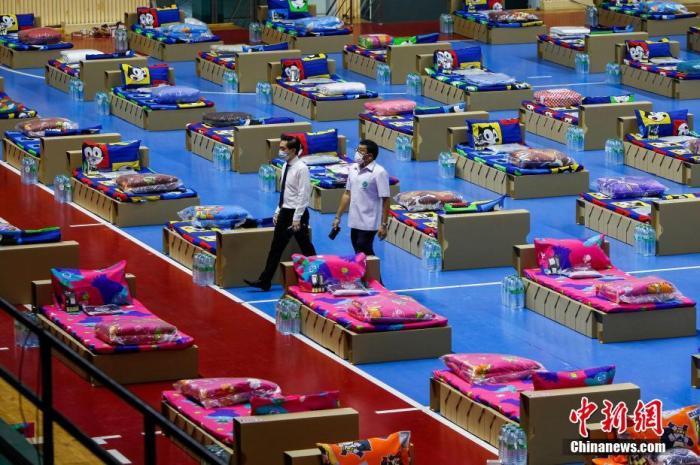 spf18泰国曼谷暴发社区集群感染 总理挂帅督战
