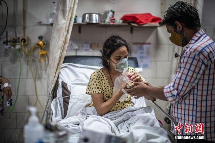 《柳叶刀》:印度新冠死亡病例至8月将累计达百万