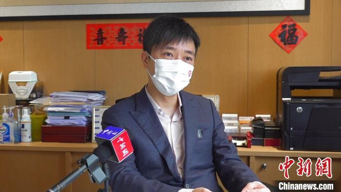 港区全国政协委员、香港各界文化促进会执行主席马浩文2日就加强和改进中国国际传播工作接受中新社记者专访 。中新社记者 曾平 摄