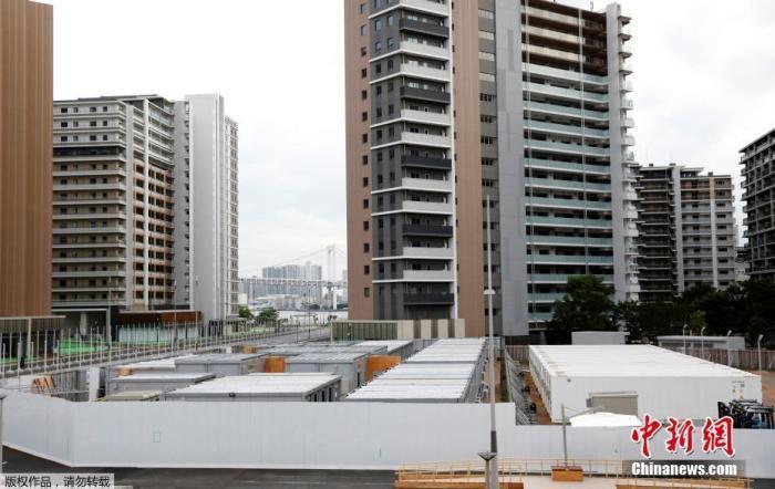 资料图:东京奥运会奥运村。