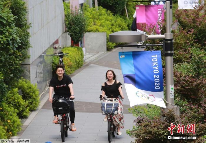 2020� 京�W�\���_幕�M入倒��r�A段,日本� 京街�^遍布�W�\元素。