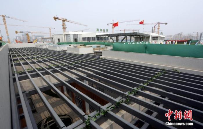 中国首座下沉庭院式变电站在雄安新区建成投运