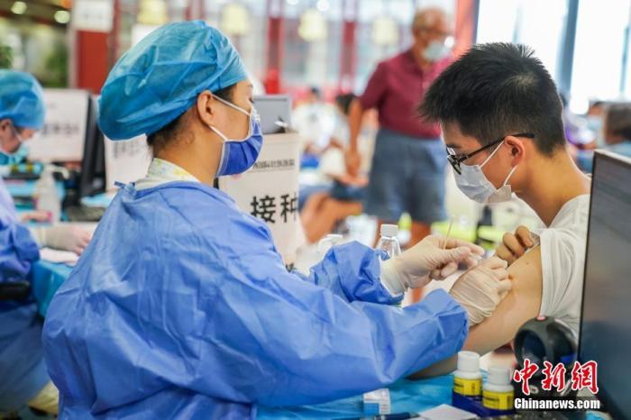 31省份累计报告接种新冠病毒疫苗149160.5万剂次