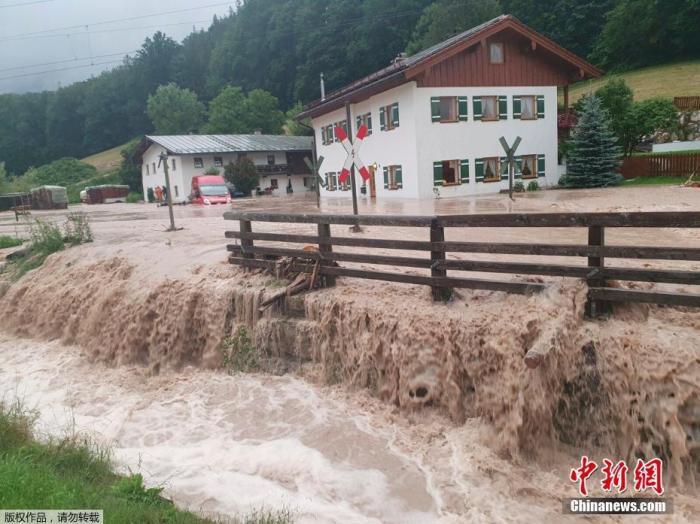 德国政府批准四亿欧元紧急救灾资金