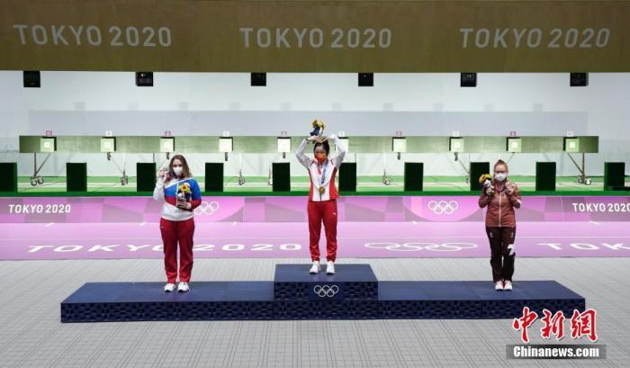 回顾历届奥运会中国首金,射击已占7块