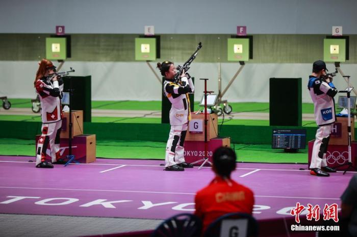 开门红!中国选手杨倩摘得东京奥运会首金