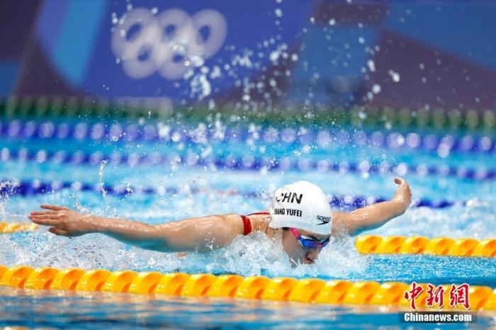 游泳开启争金大战 中国女将再破亚洲纪录