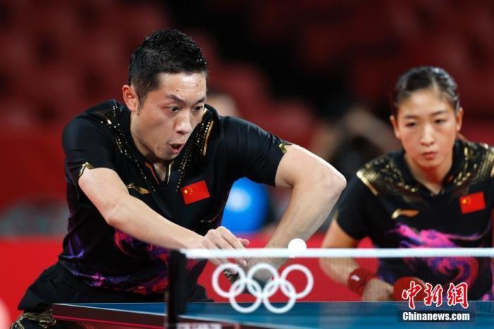 刘诗雯因伤退出奥运团体赛 王曼昱接替出战