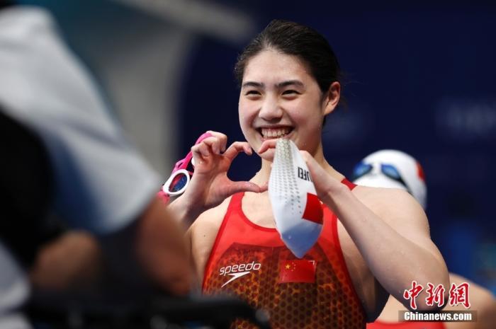 张雨霏一届奥运会游了12枪