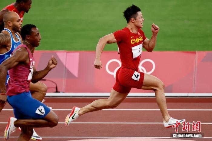 实至名归!苏炳添将担任奥运闭幕式中国代表团旗手图片