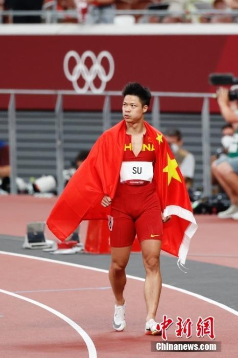 苏炳添将担任中国体育代表团闭幕式旗手图片