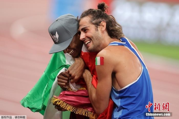 坦贝利和巴尔希姆在这个项目上是最有力的竞争对手,在先后完成2.37米的成绩后,二人决定不再加赛,一起当冠军。这是奥运会跳高项目上首次出现的双金牌,两个老友一起创造历史。