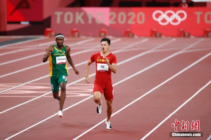 止步200米半决赛,谢震业已然创造历史图片