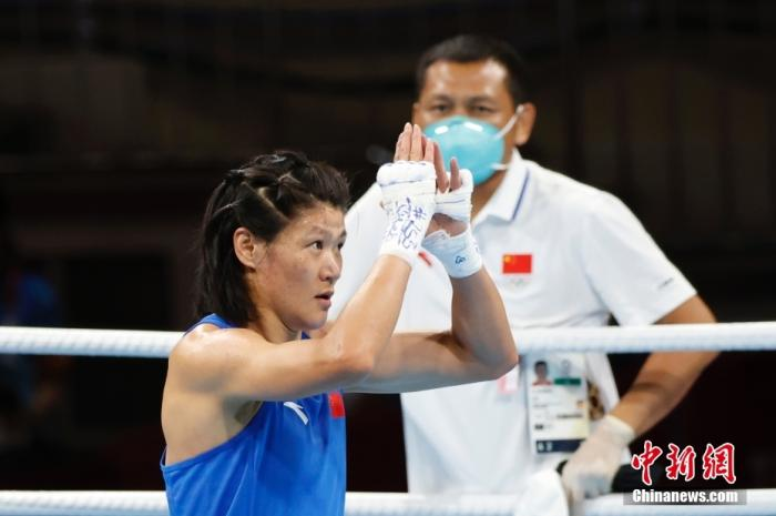闯进奥运会决赛 中国女拳手谷红自感意外图片