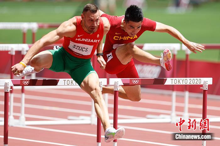 谢文骏110米栏无缘决赛:我还有梦想图片