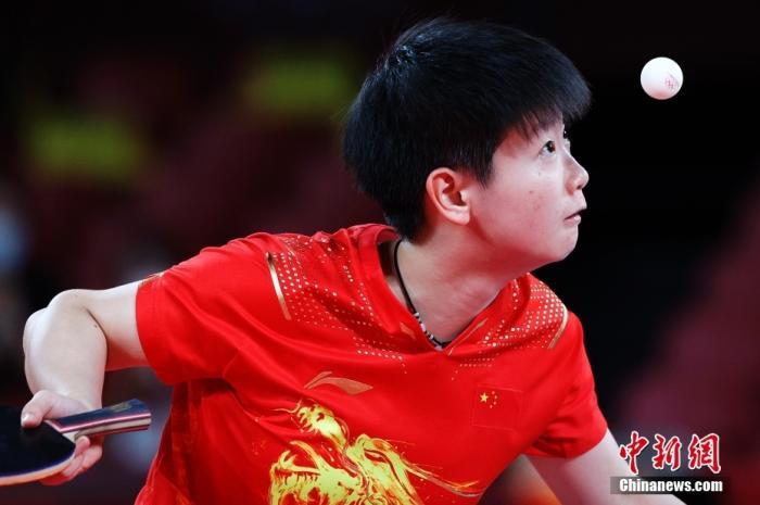 刘国梁:孙颖莎征服世界乒坛 是新时代偶像图片