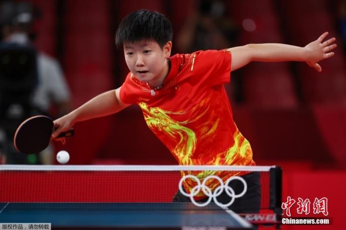孙颖莎说金牌送给中国图片