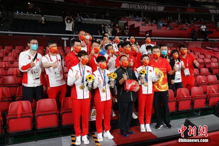 国乒女团,再登奥运之巅图片