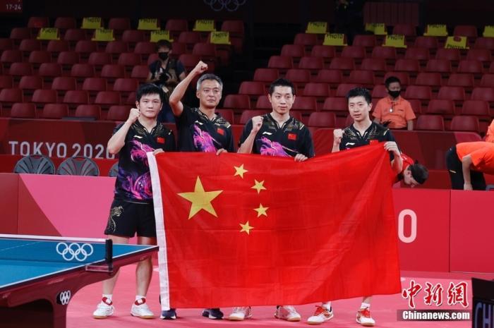 综合消息:国乒男团四连冠 女子标枪首得金图片