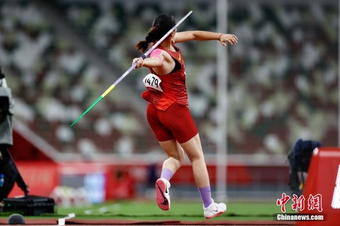 一投制胜!刘诗颖夺得中国奥运标枪首金图片
