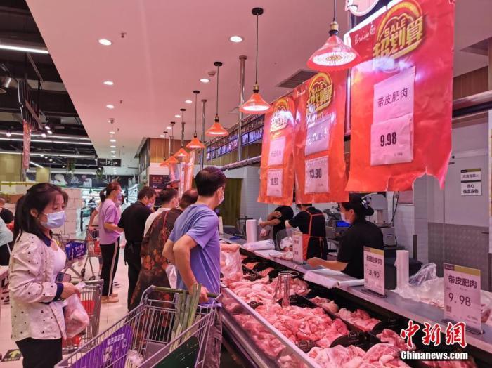 商务部:今年以来累计组织投放中央储备猪肉9万余吨