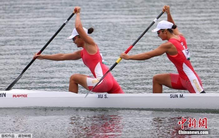 北京时间8月7日,东京奥运会女子500米双人划艇决赛中,中国组合徐诗晓/孙梦雅以1分55秒495夺得冠军,这也是中国女子皮划艇队的奥运首金。