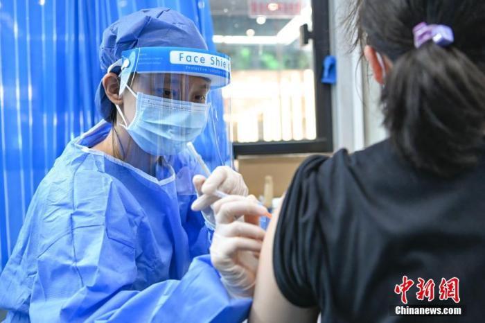 31省份累计报告接种新冠病毒疫苗223832.5万剂次