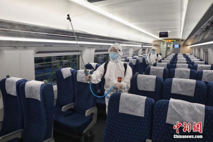 官方:各地根据疫情形势从严从紧落实消毒工作图片