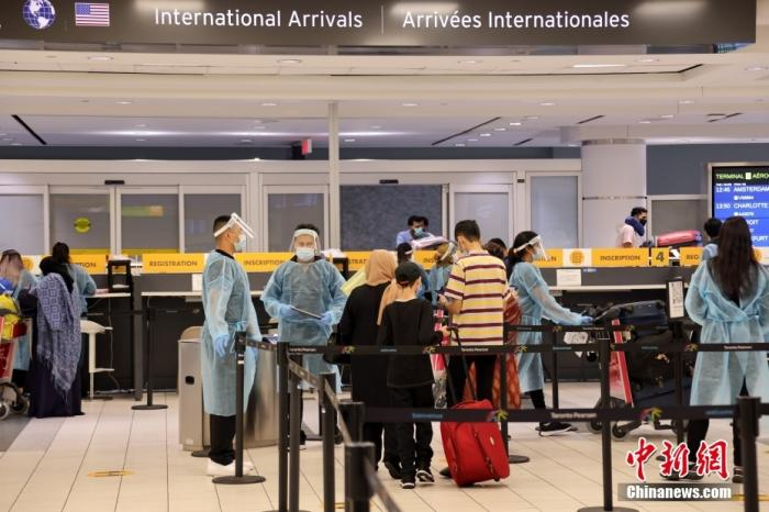"""加拿大推行全国统一的""""疫苗护照"""""""