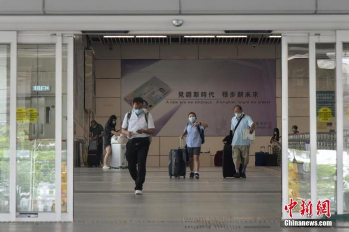 """香港实施""""来港易""""计划  入境者指过程顺畅"""