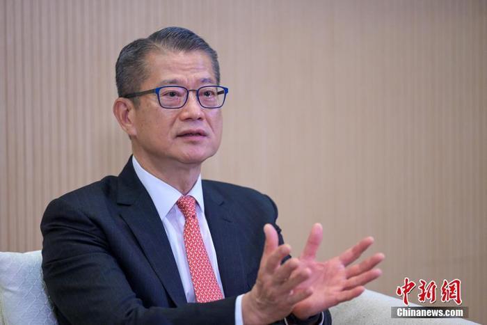 资料图:香港特区政府财政司司长陈茂波。 记者 陈永诺 摄