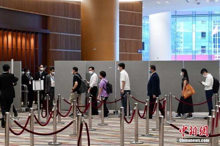 港高官指选委会代表香港社会整体利益 吁选民踊跃投票