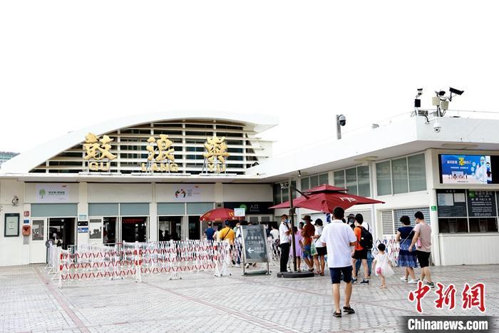 10月6日,著名旅游胜地厦门市鼓浪屿景区迎来恢复开放。 <a target='_blank' href='http://www.chinanews.com/'>中新社</a>发 钟欣 摄