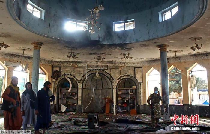"""""""伊斯兰国""""承认在阿富汗一清真寺发动袭击 已致30多人死亡"""