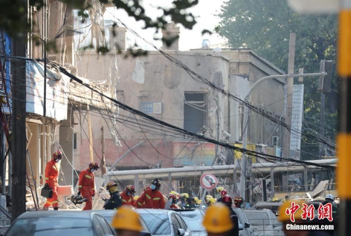 沈阳燃气爆炸事故已致4死47伤 事故原因正在调查中