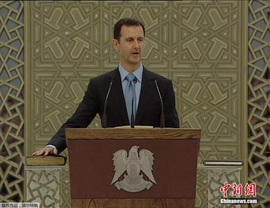 """叙总统强调叙利亚今后应""""向东看"""""""
