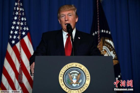 """特朗普强调美在阿富汗行动决心 不忘""""敲打""""阿政府"""
