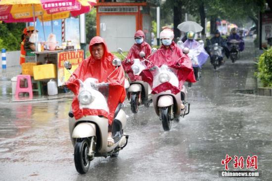 华北等地将有强降雨过程东北旱区出现小到中雨