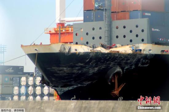 美军舰与商船相撞:今年四度在亚洲海域发生事故