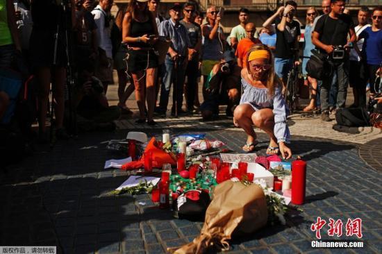 巴塞罗那恐袭:警方追捕肇事司机 一名男童遇难